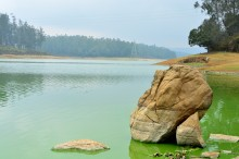 Lake behind Pine Forest @ Ooty
